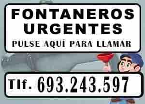 Fontaneros Madrid 24 horas Urgentes