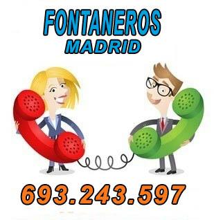 fontanero en Madrid